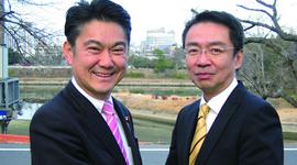 山下貴司氏と柳井弘