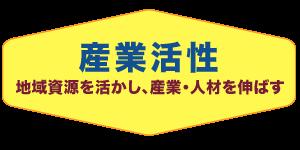 やない弘の政策・産業活性